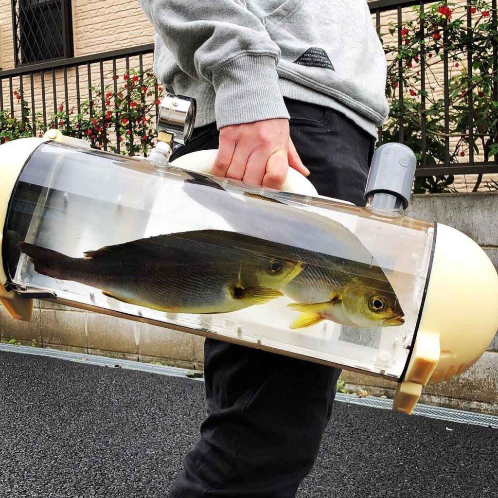 Katsugyo Bag Live Fish Carrier Bag