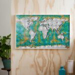 LEGO Art World Map Joins LEGO Art Collection, Has A Mind-boggling 11,695 Pieces!