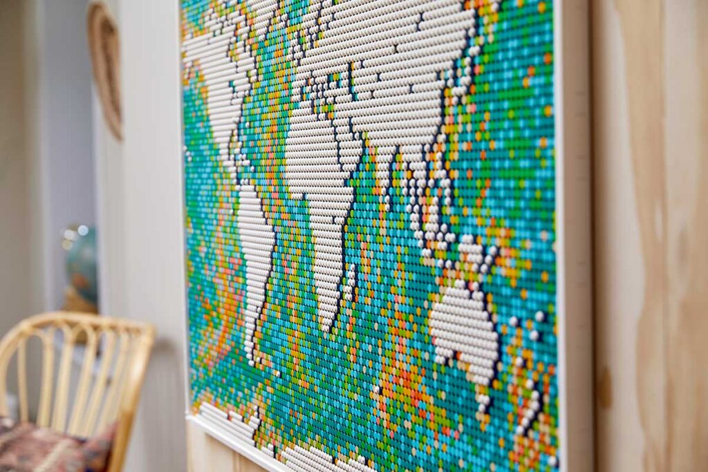 LEGO 31203 Art World Map Set