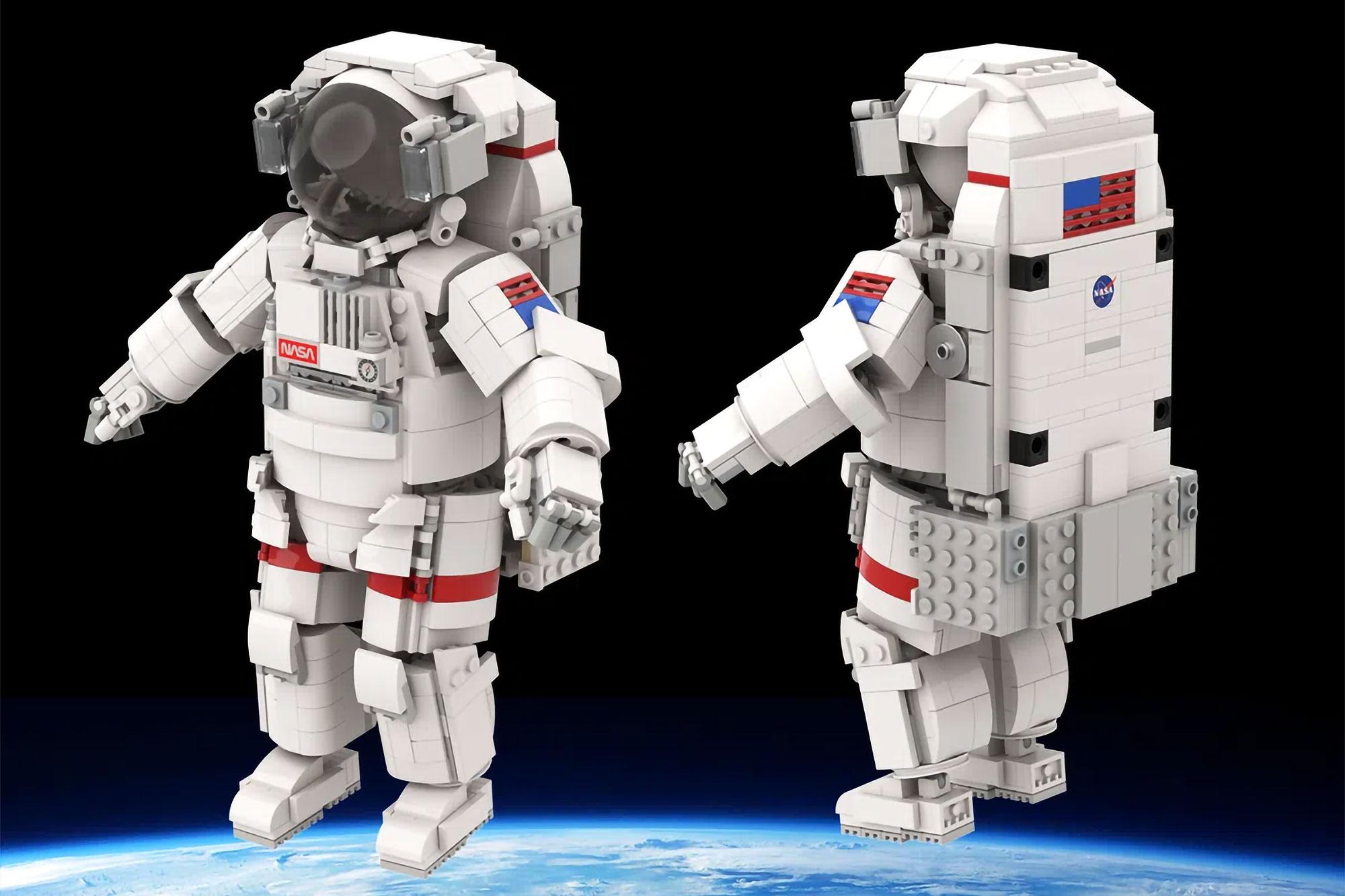 LEGO Astronaut by legotruman