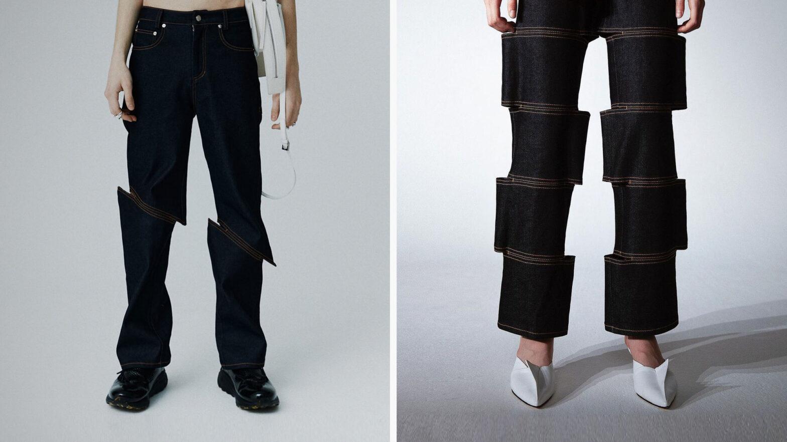 LEJE L and Slash Jeans