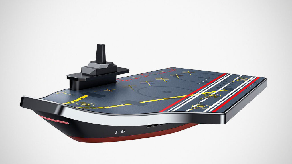 Officially Licensed Liaoning Aircraft Carrier Wireless Charging Pad