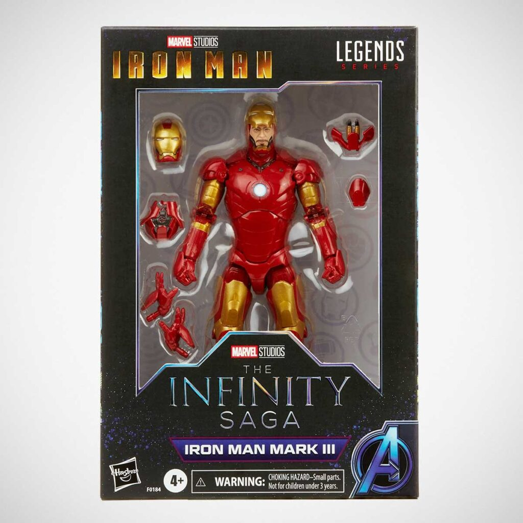 Marvel Legends Series Iron Man Mark 3 Figure