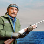The First <em>JAWS</em> Quint 8-inch Clothed Action Figure In Robert Shaw's Likeness!