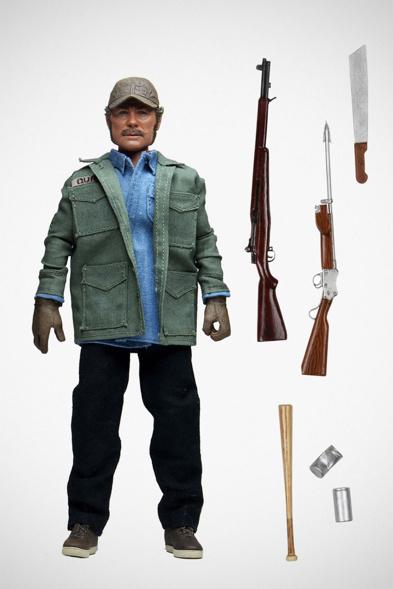 NECA JAWS Quint Clothed Action Figure