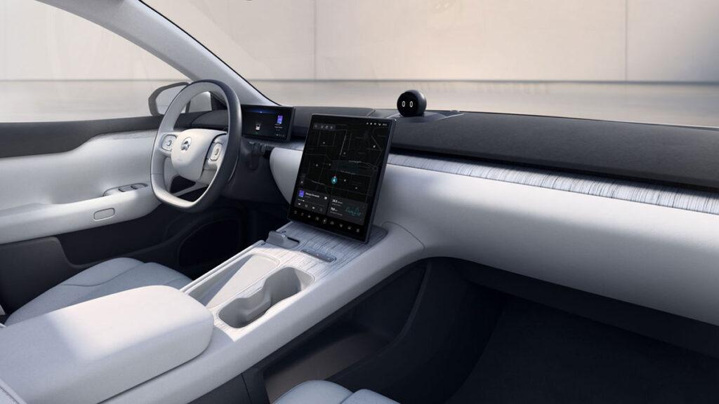 NIO ET7 Electric Vehicle with Autonomous Driving