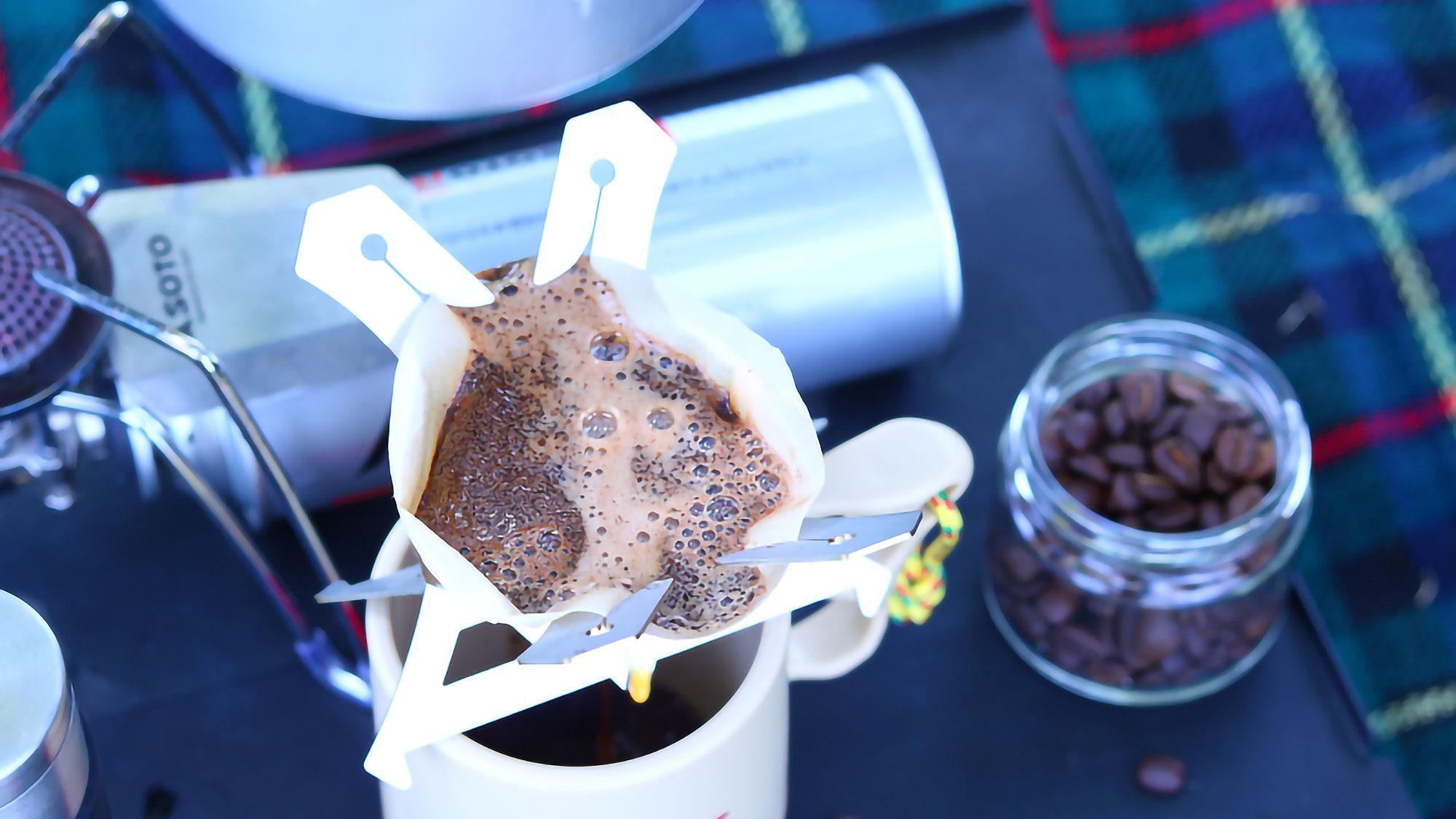 Pelican Coffee Dripper by Katori Seisakusho