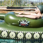 This Inflatable Tank Pool Toy Will Make Its Presence Felt With Its Functional Water Cannon