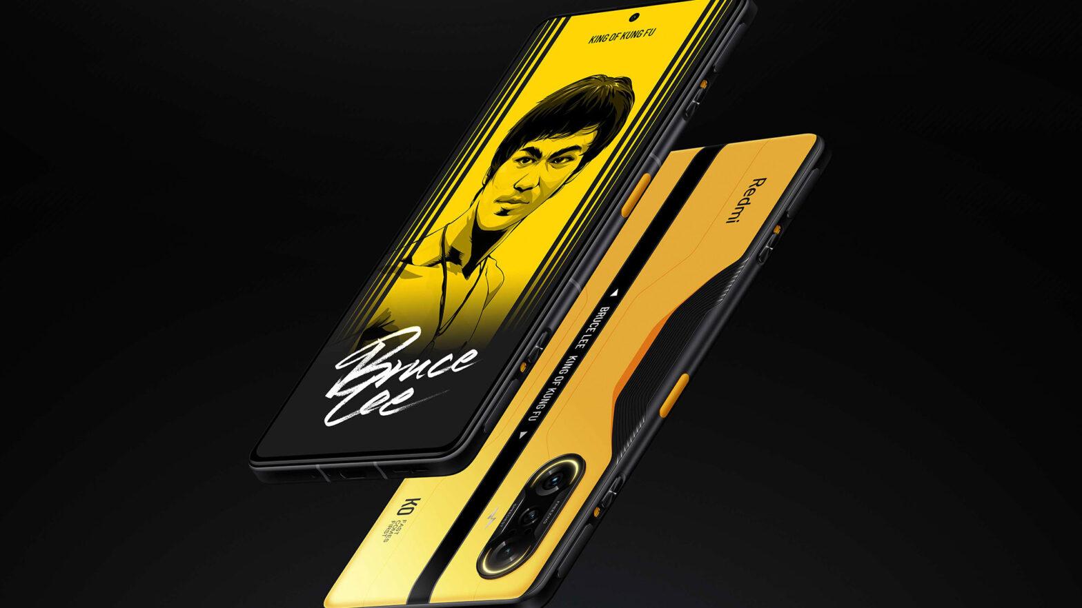 Redmi K40 Bruce Lee Edition Smartphone