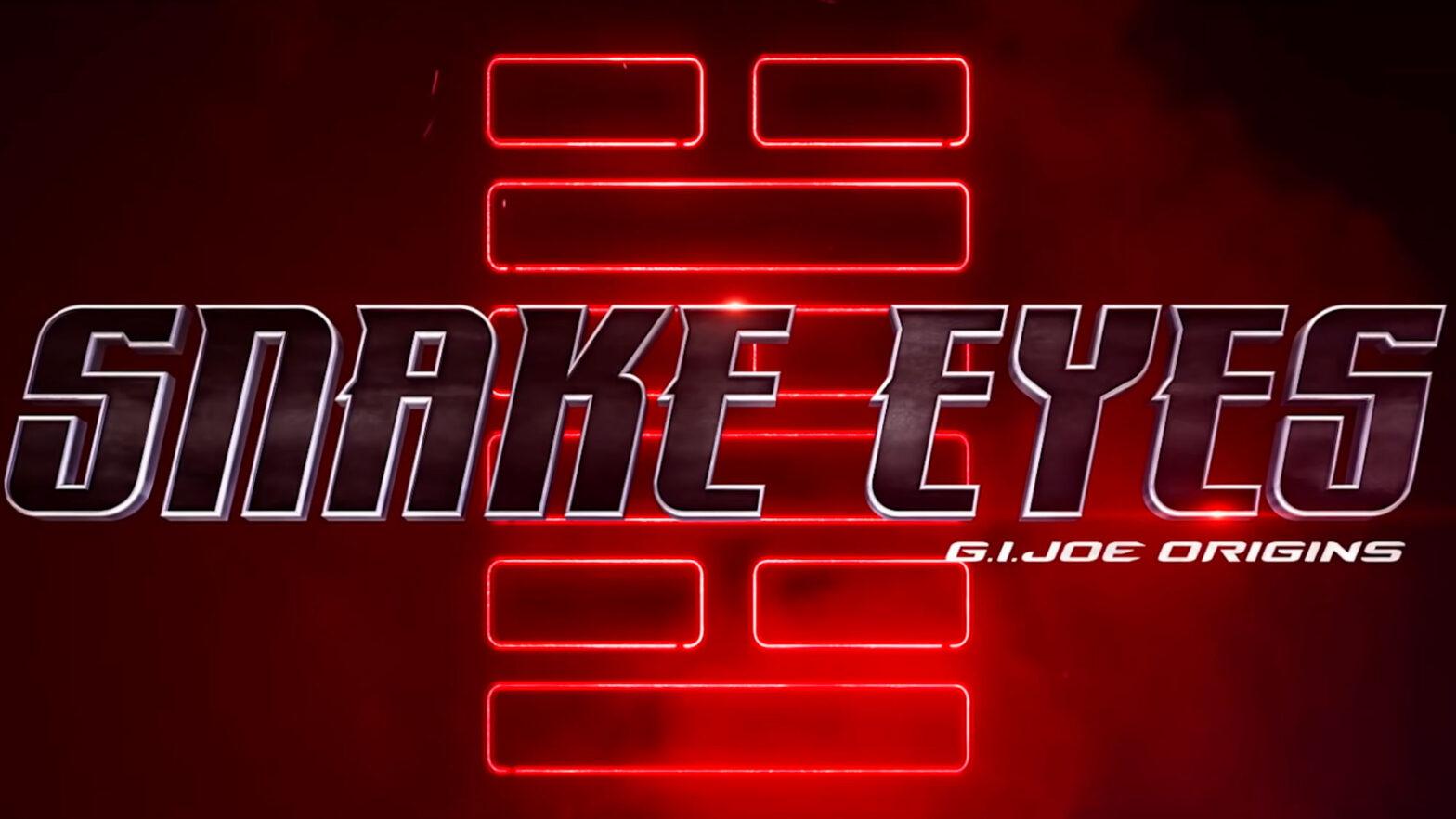 Snake Eyes: G.I. Joe Origins Movie Trailer