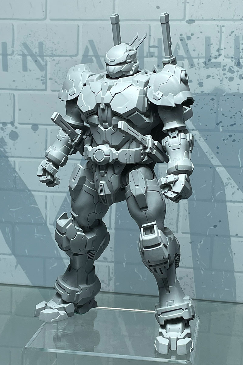 Snap Anime Alloy Armor TMNT Action Figures