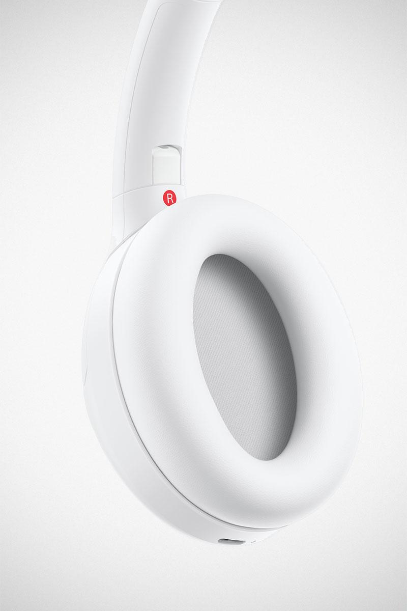 Sony WH-1000XM4 Headphones Silent White