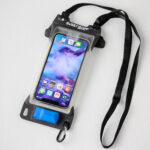 This Waterproof Pouch For Smartphone Lets You Use The Touchscreen While Inside It