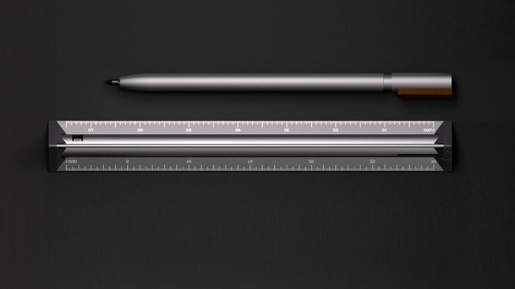 TA+d One 3 Ruler with Integrated Pe