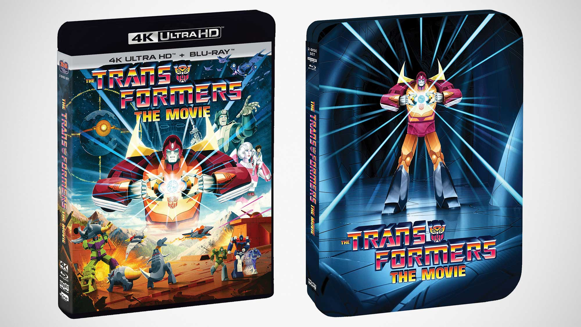 Transformers The Movie Re-released in 4K UHD