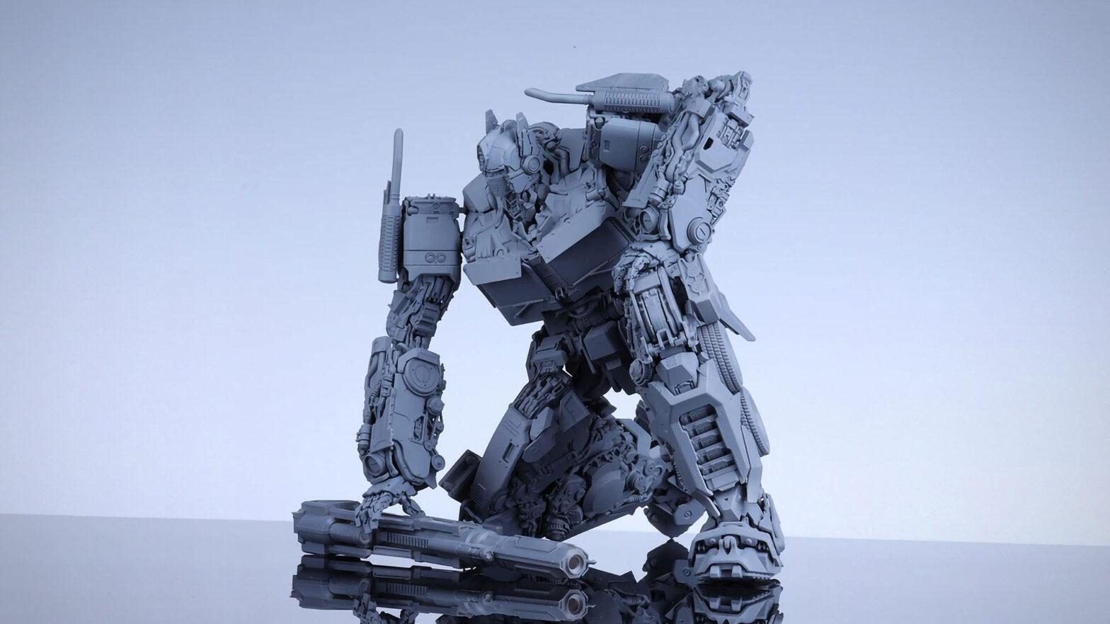 Yolopark x Soskill Optimus Prime Model Kit