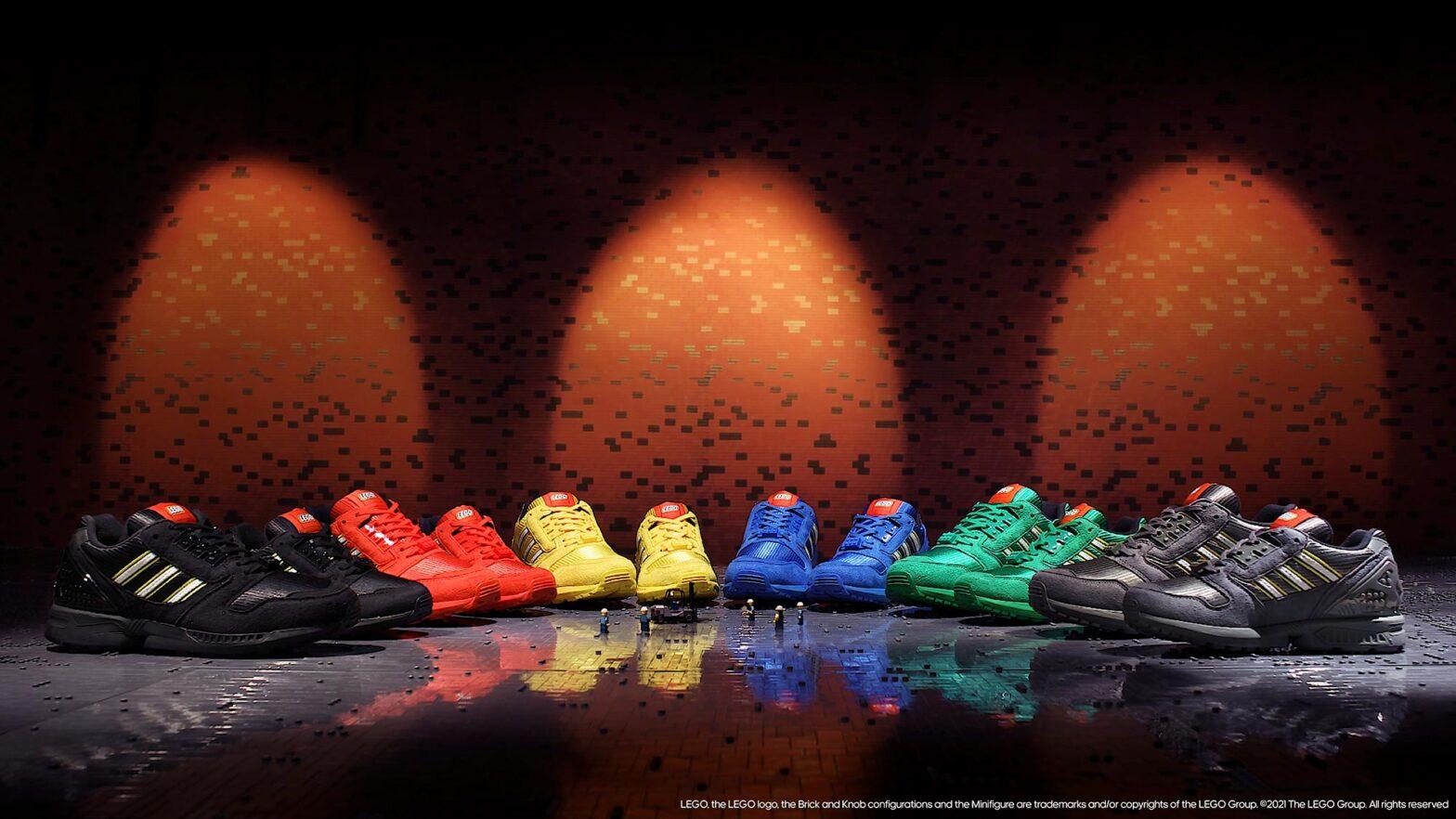 adidas Originals x LEGO ZX 800 'Bricks' Collection
