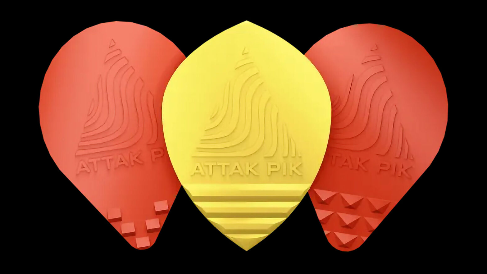 Acoustik Attak Effects Guitar Picks