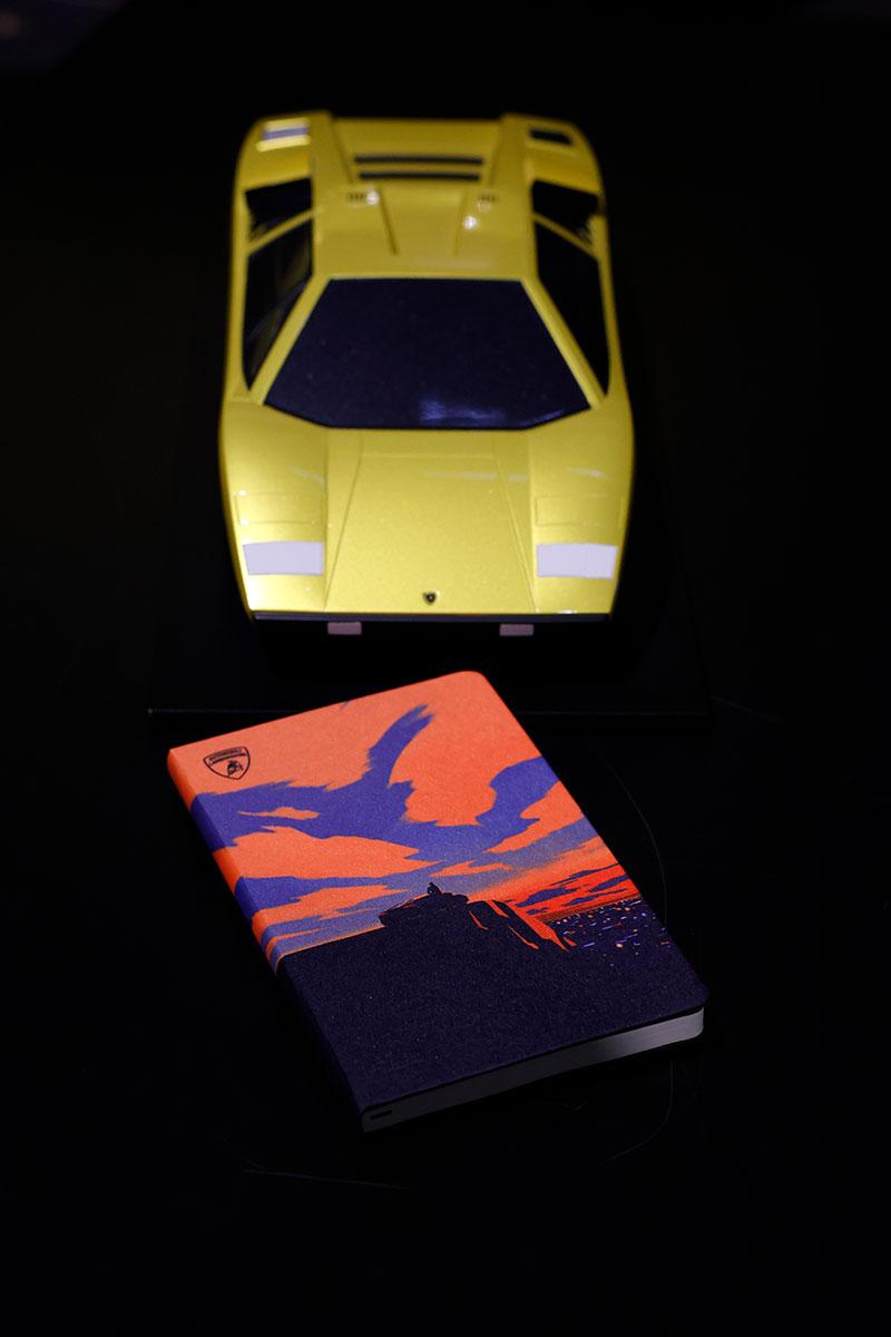Automobili Lamborghini x Moleskin A5 Notepad