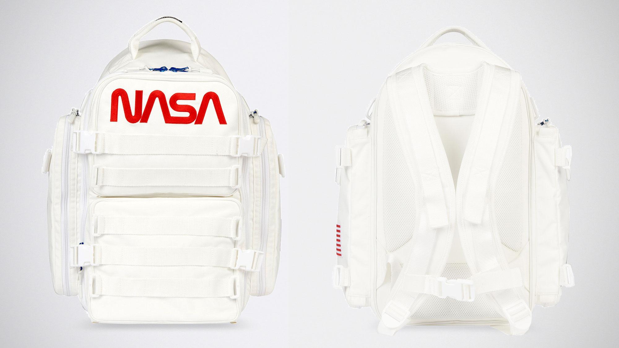 Balenciaga x NASA Space Parka and Backpack