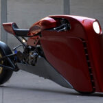 This Custom Motorcycle Looks Like A Mashup Of A Steamliner And <em>Iron Man</em>
