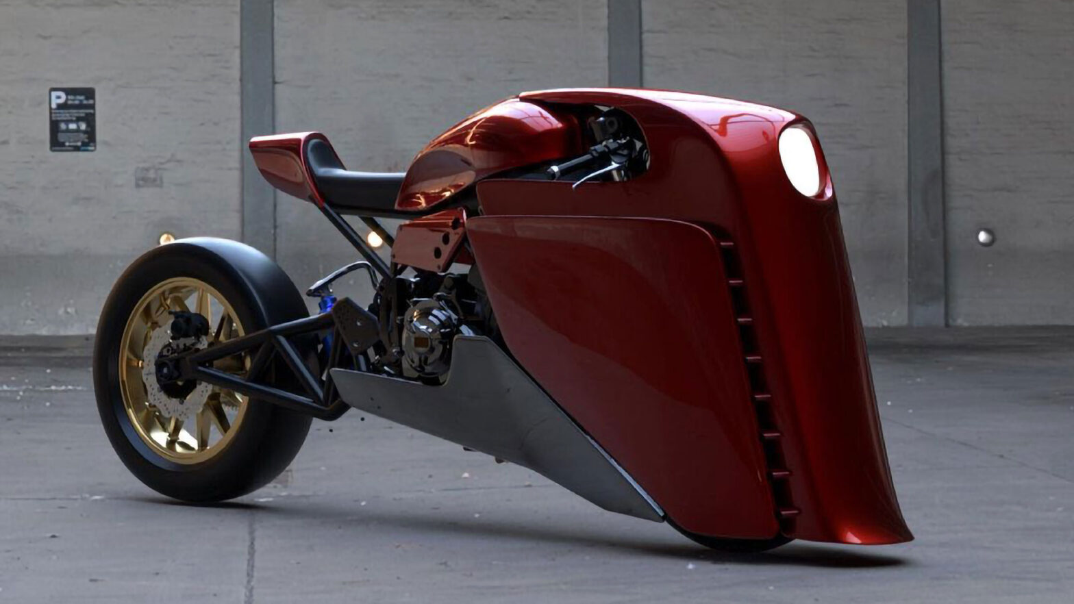Concept Bike for Anthony Partridge by Ziggymoto