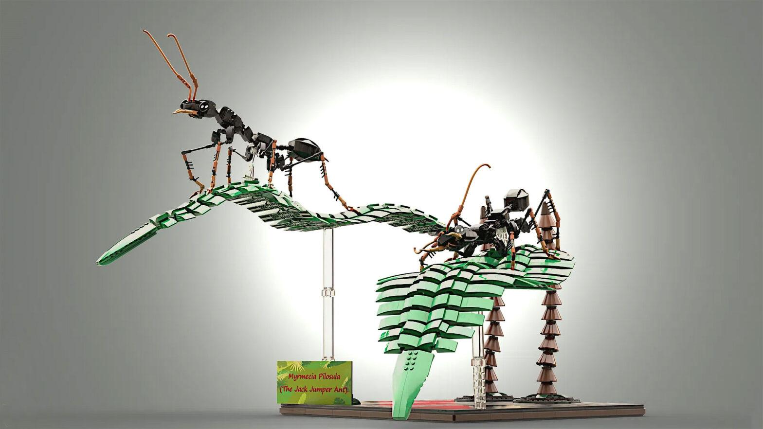 Custom LEGO Jack Jumper Ant by Slekk024
