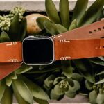 Here's A Super Classy Handsewn Leather Watch Band For Apple Watch