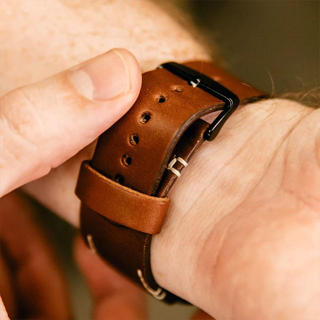 DODOcase Leather Apple Watch Band