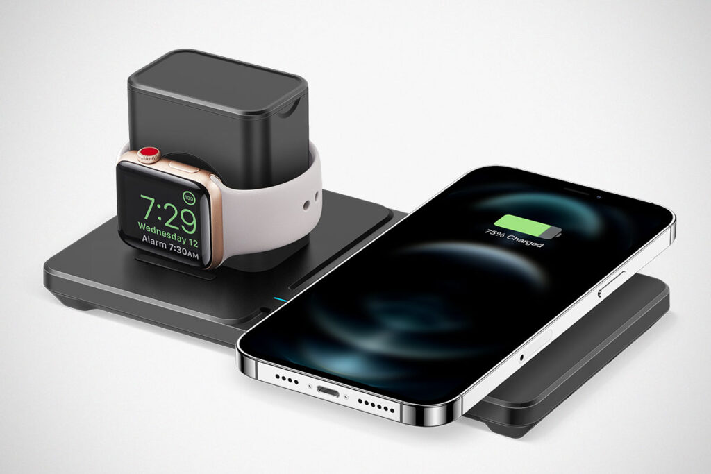 ESR HaloLock 2-in-1 MagSafe-compatible Wireless Charger