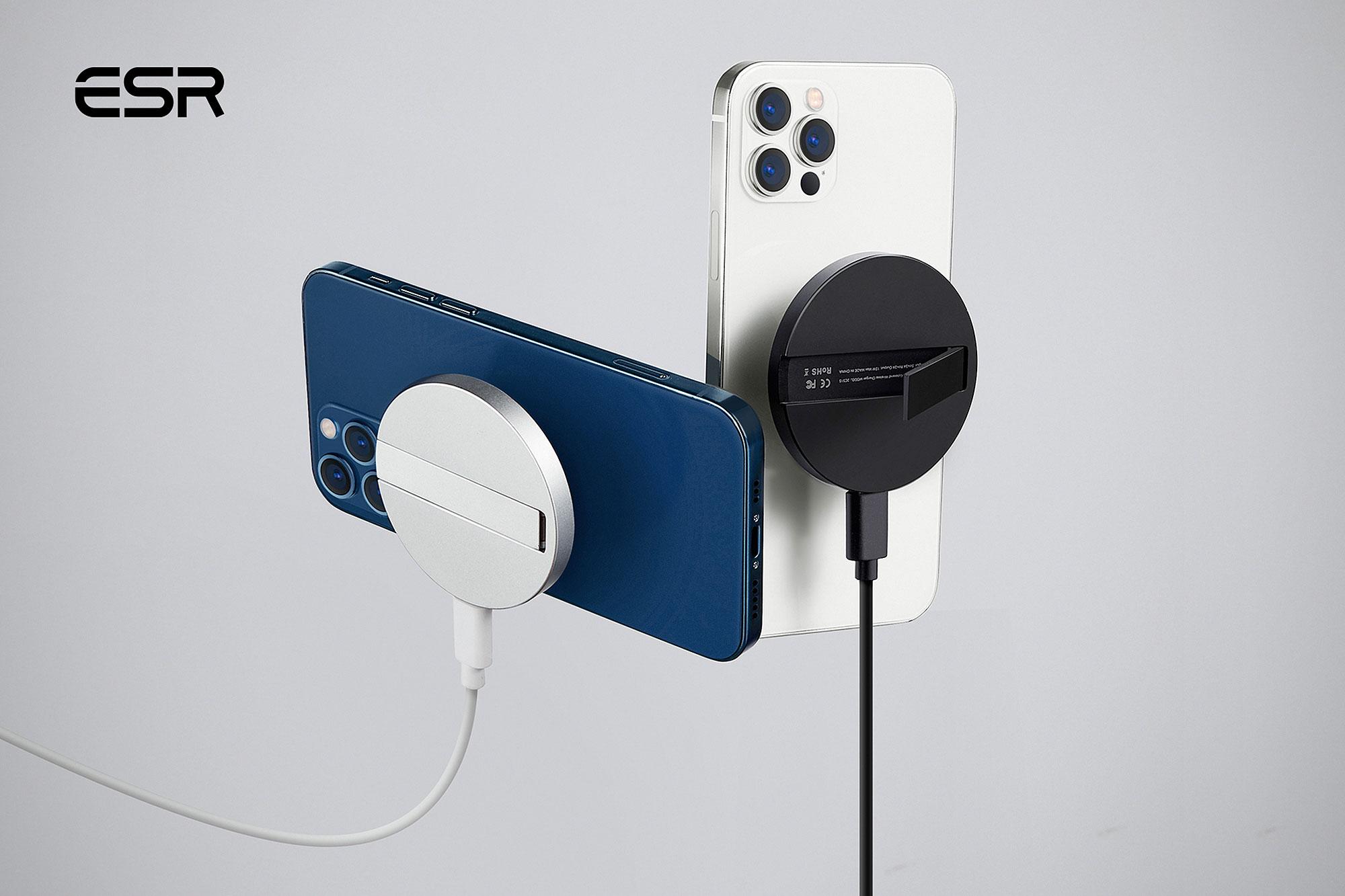 ESR HaloLock MagSafe-compatible Wireless Kickstand Charger