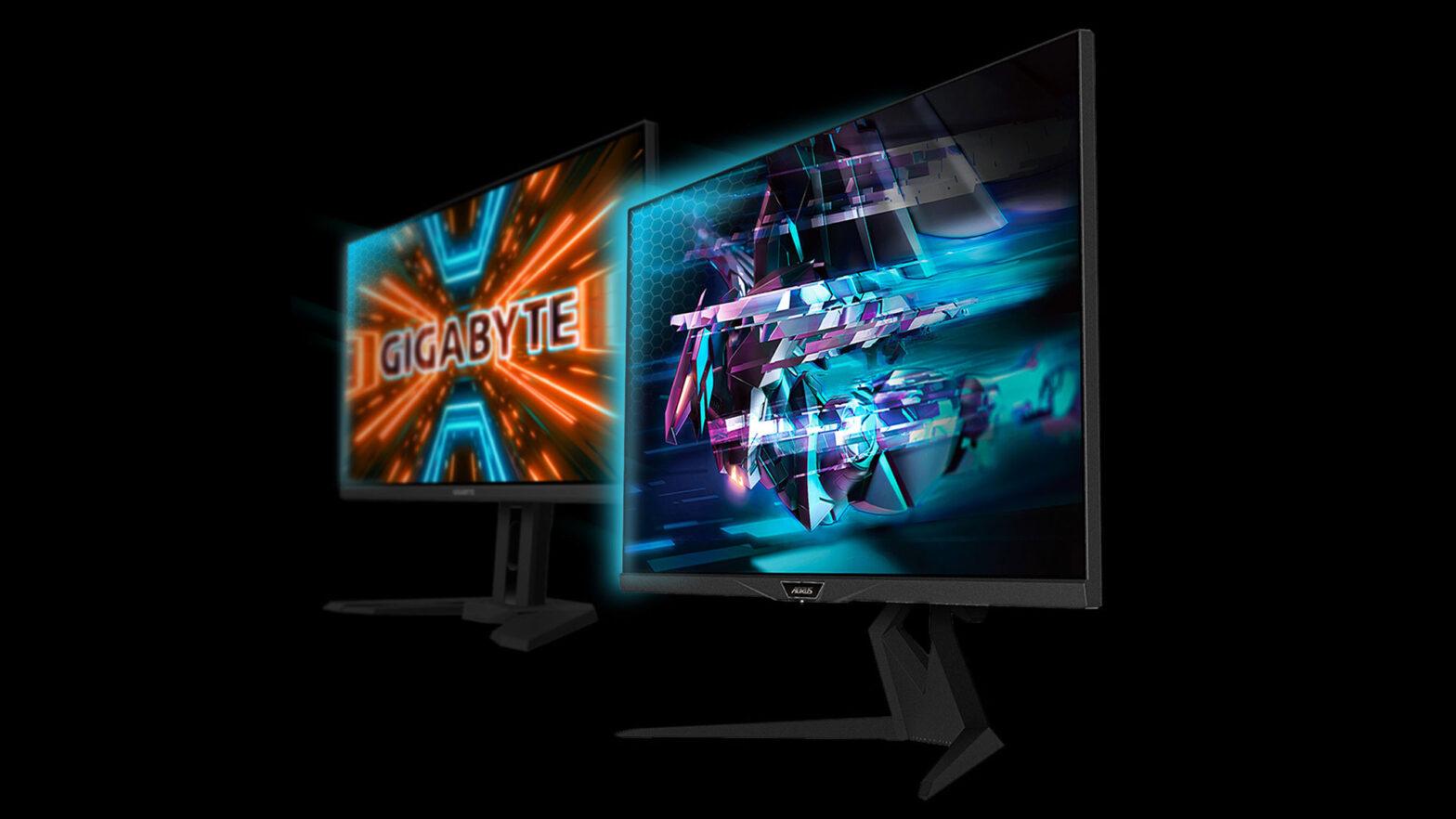 GIGABYTE Eyesafe Certified Gaming Monitors