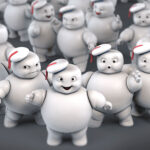 Hasbro <em>Ghostbusters</em> Plasma Series Mini-Pufts: The Cutest Stay Pufts Ever