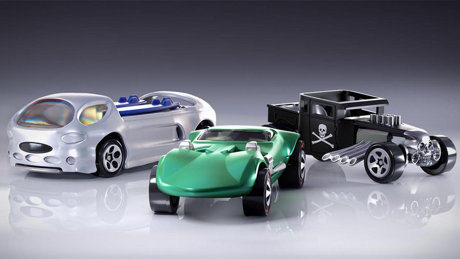 Hot Wheels Non-fungible Token Cars