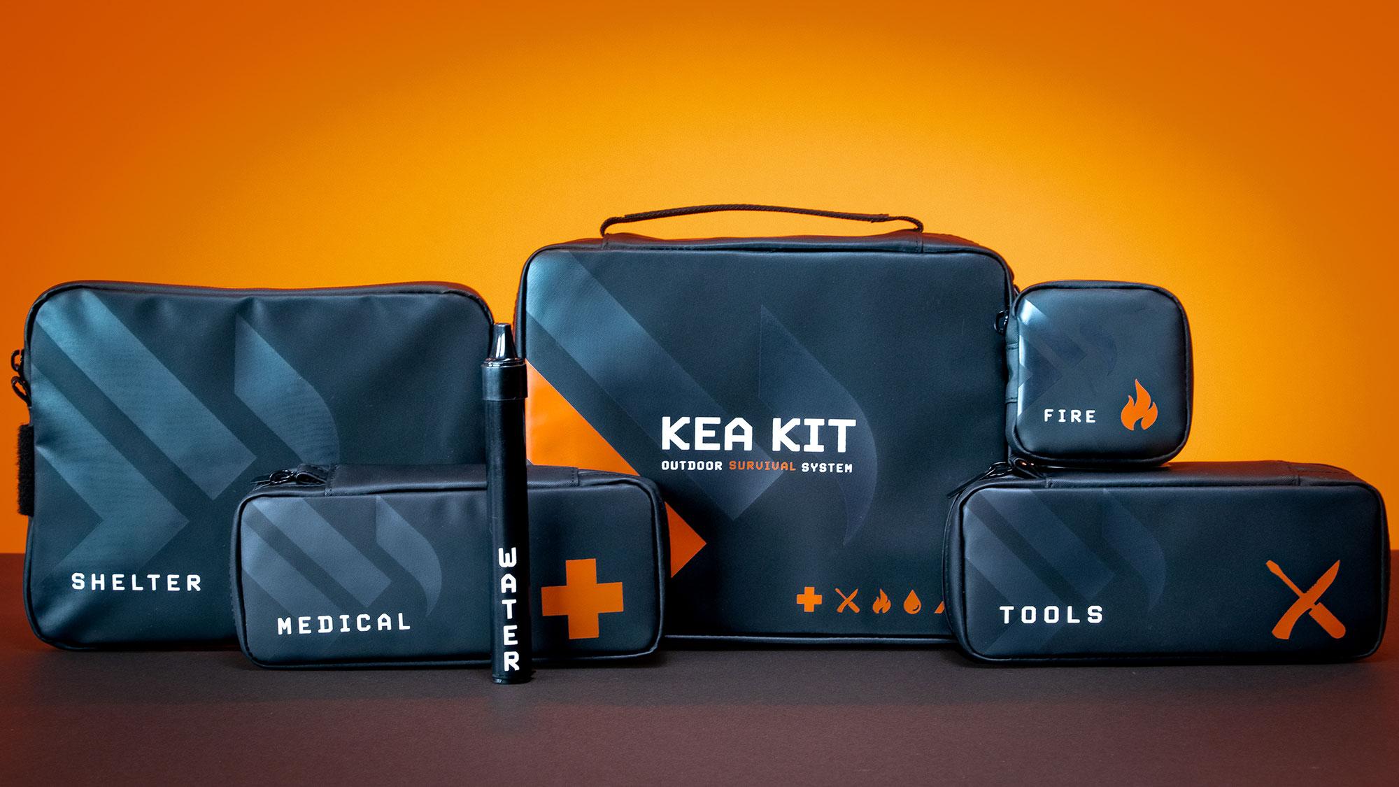 KEA Kit Outdoor Survival System Kickstarter