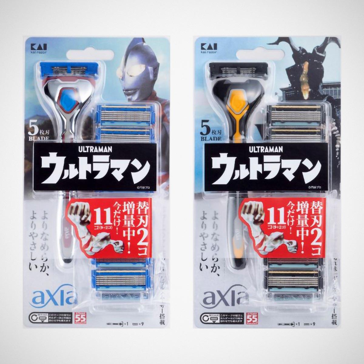 Kai Razor x Ultraman Kai Razor Axia
