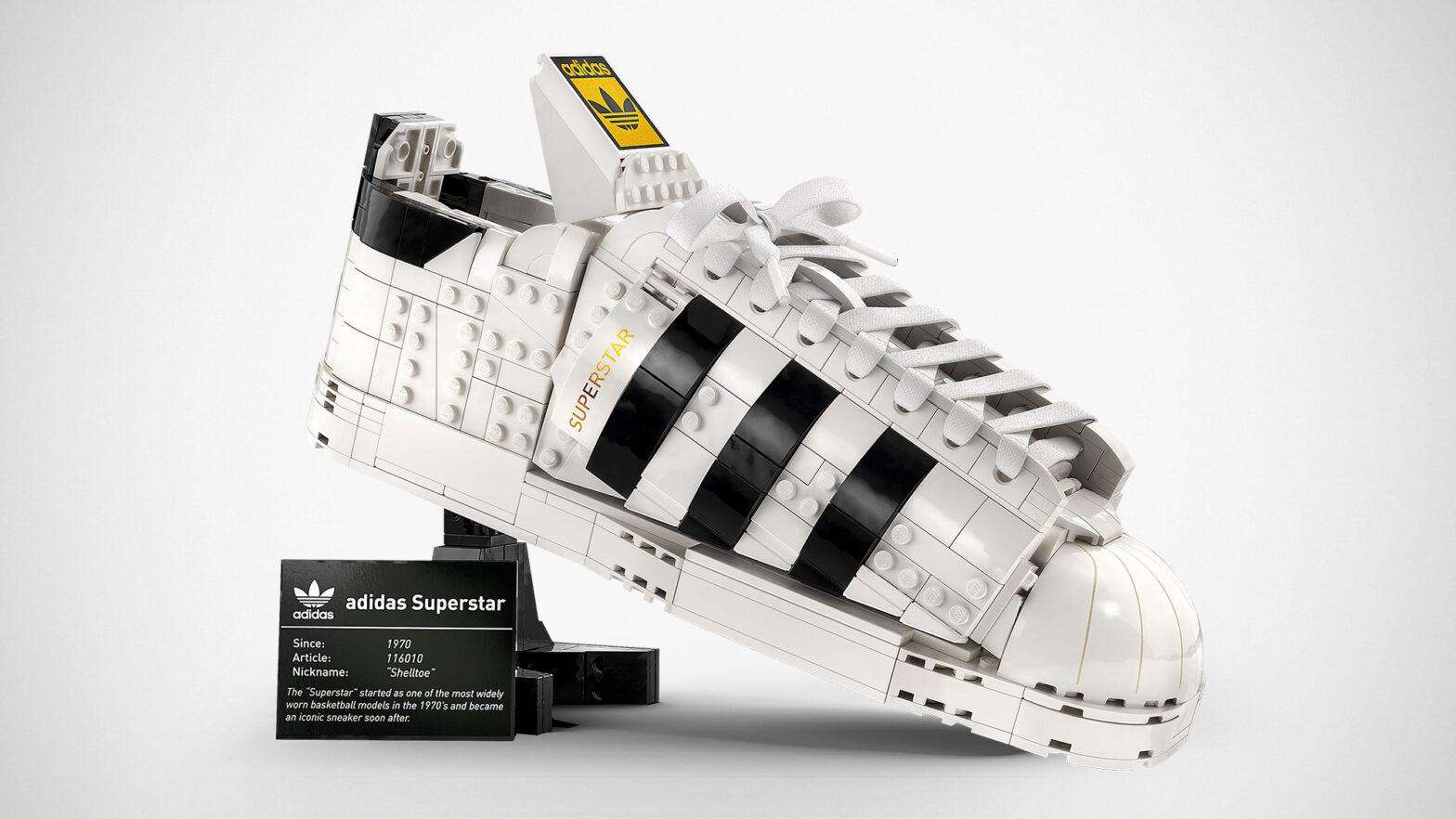 LEGO 10282 adidas Originals Superstar Sneaker