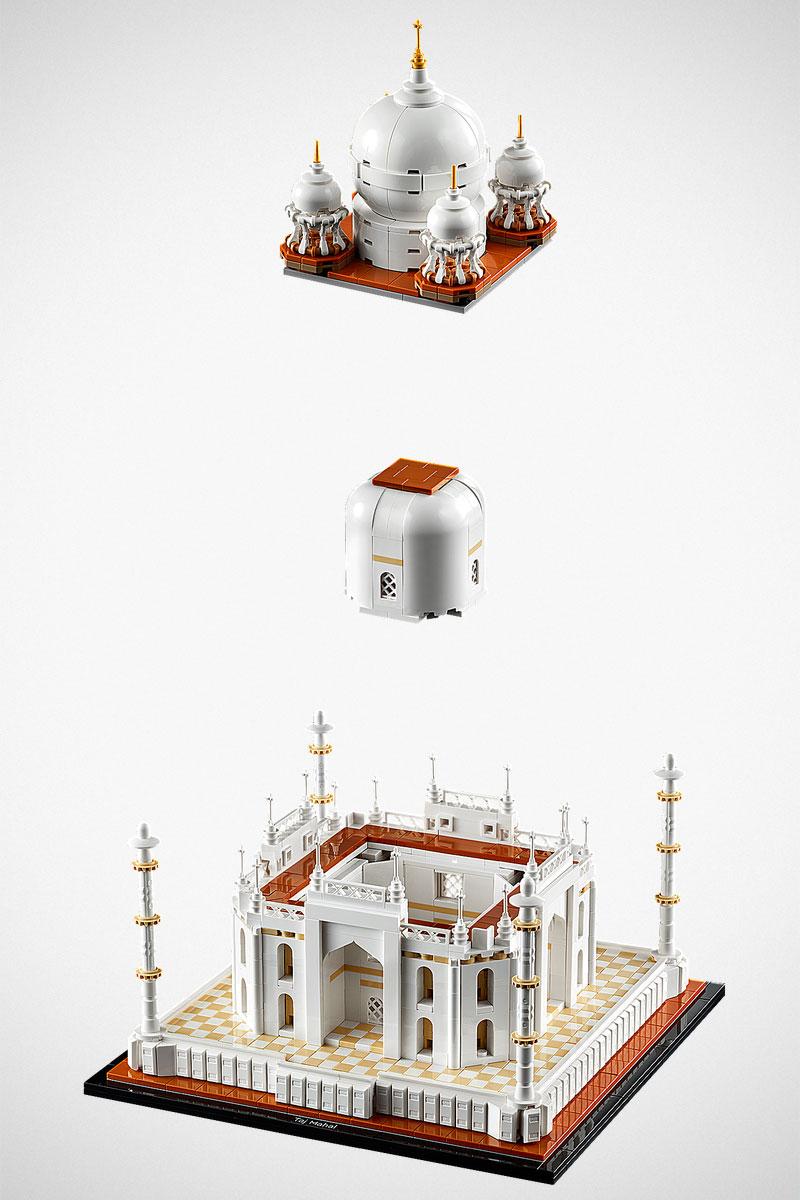 LEGO 21056 Taj Mahal Building Set
