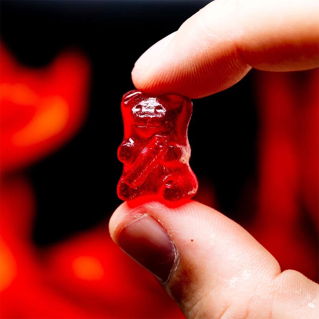 Lil' Nitro The World's Hottest Gummy Bear