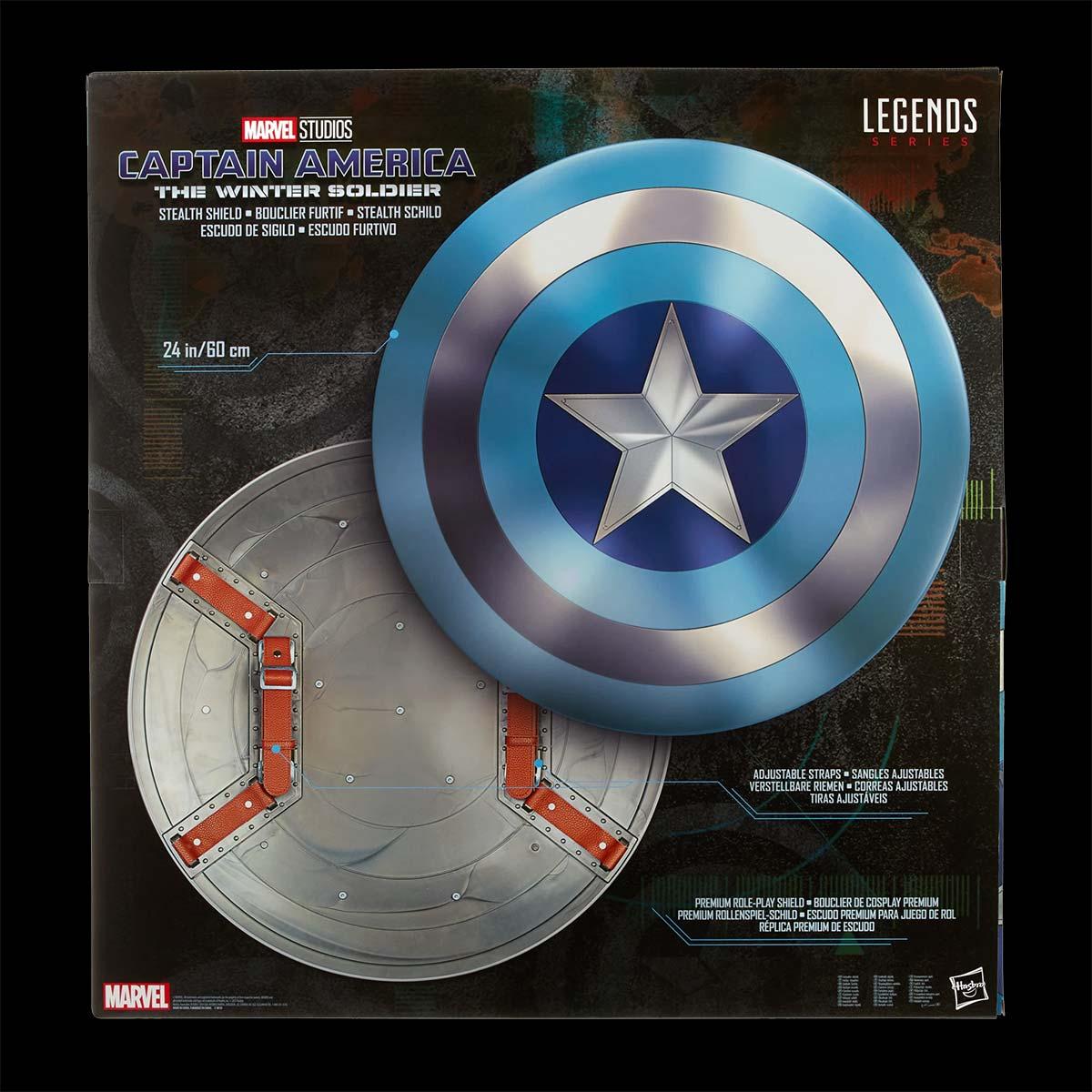 Marvel Legends Captain America Stealth Shield