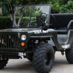 Mini Replica Jeep Willys Electric Vehicle For Adults Actually Exists!