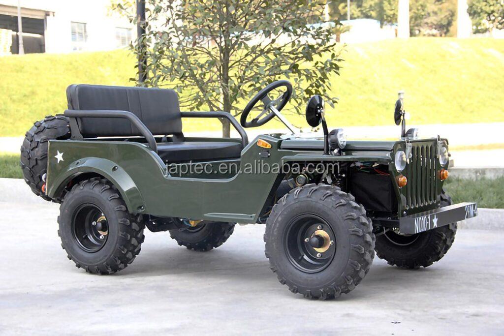Mini Replica Jeep Willy Electric Vehicle