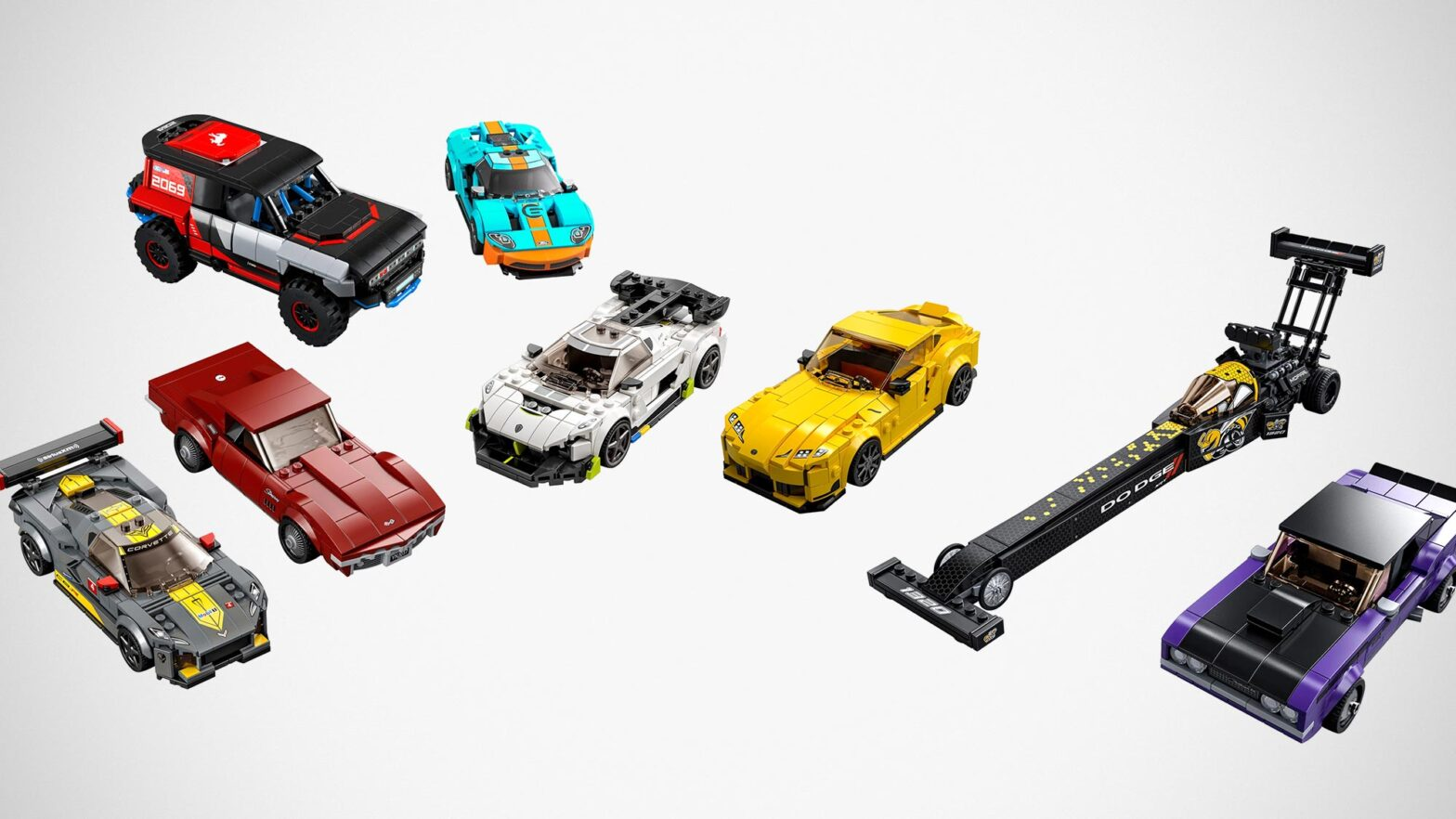 New LEGO Buildable Toy Car Sets