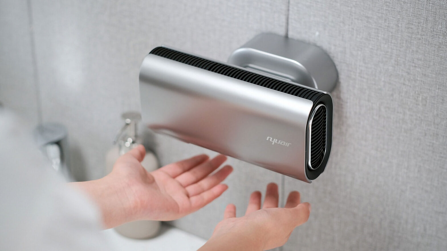 Nyuair Hand Dryer for Homes Kickstarter