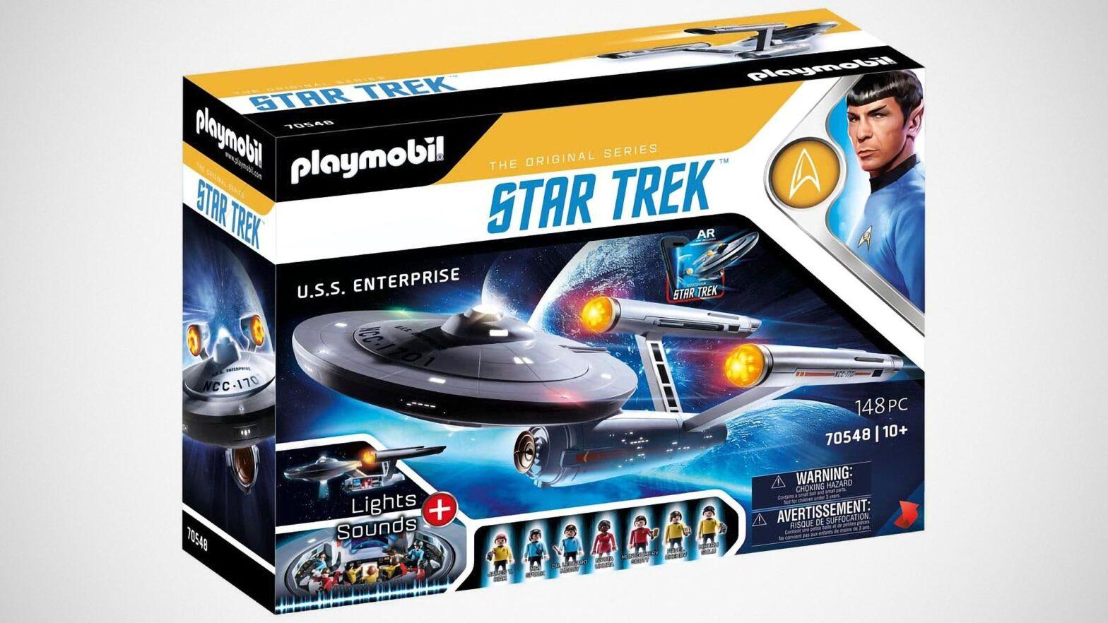 Playmobil 70548 Star Trek U.S.S. Enterprise Playset