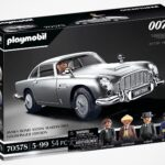 You Can Find The Best Of Q's Inventions In This Playmobil <em>James Bond</em> Aston Martin DB5