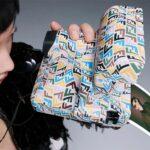 Polaroid x Fendi Vintage Camera Looks Like It Had A Fabric Draped Over It