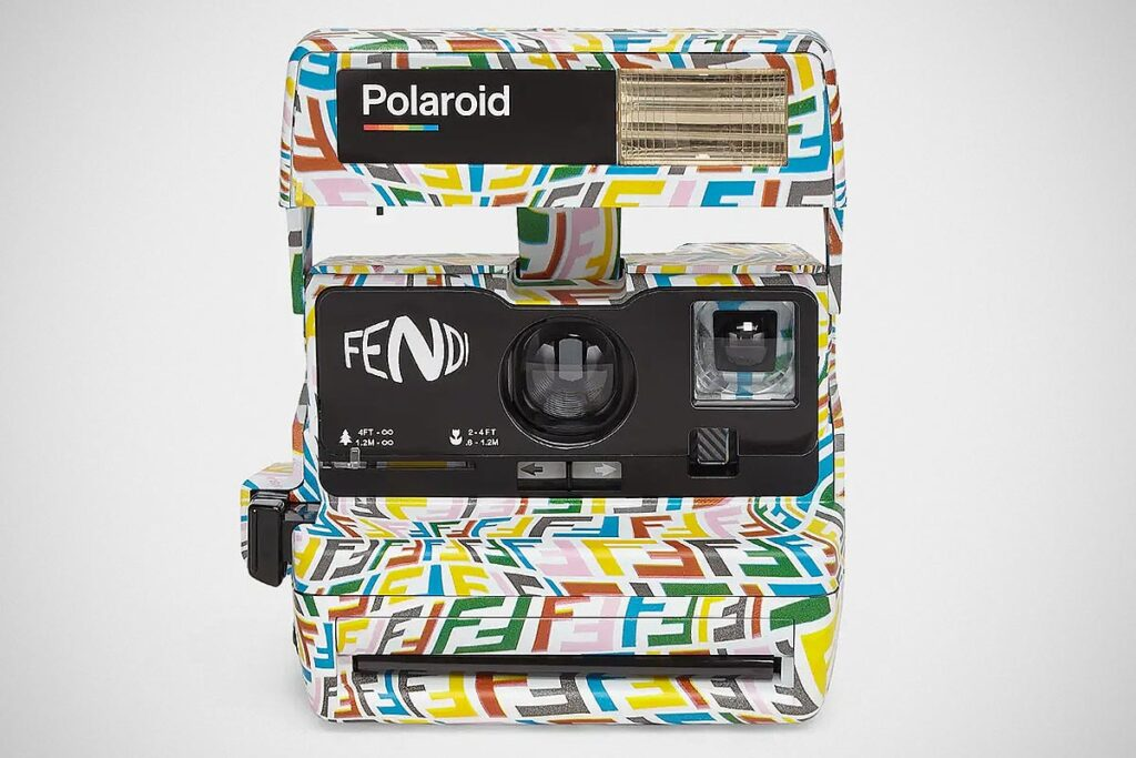Polaroid x Fendi Vintage Camera