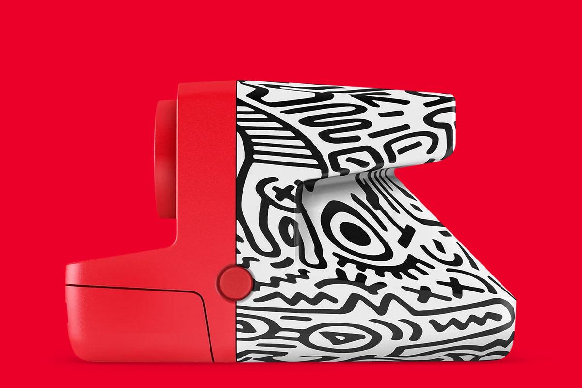Polaroid x Keith Haring Now Camera