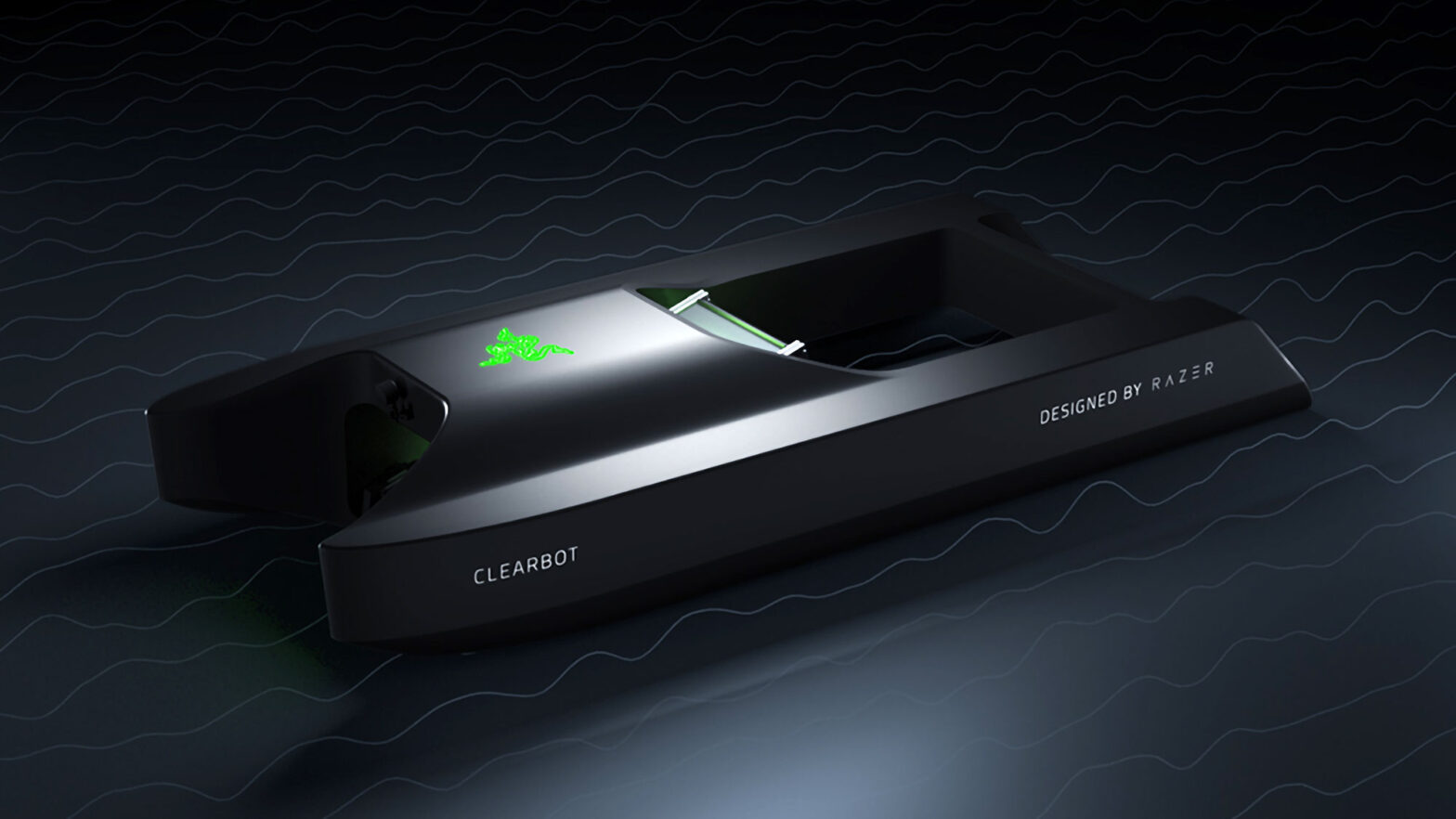 Razer x Clearbot Automated Ocean Cleaning Robot